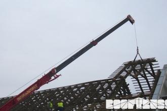 ZOO Park Vyškov - demontáž krovu