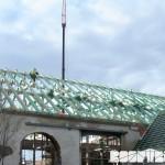 ZOO Park Vyškov - dokončení montáže krovu